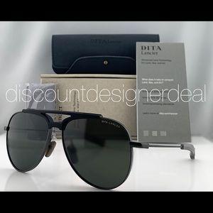 DITA LANCIER Aviator Sunglasses DLS401-60-02 61mm